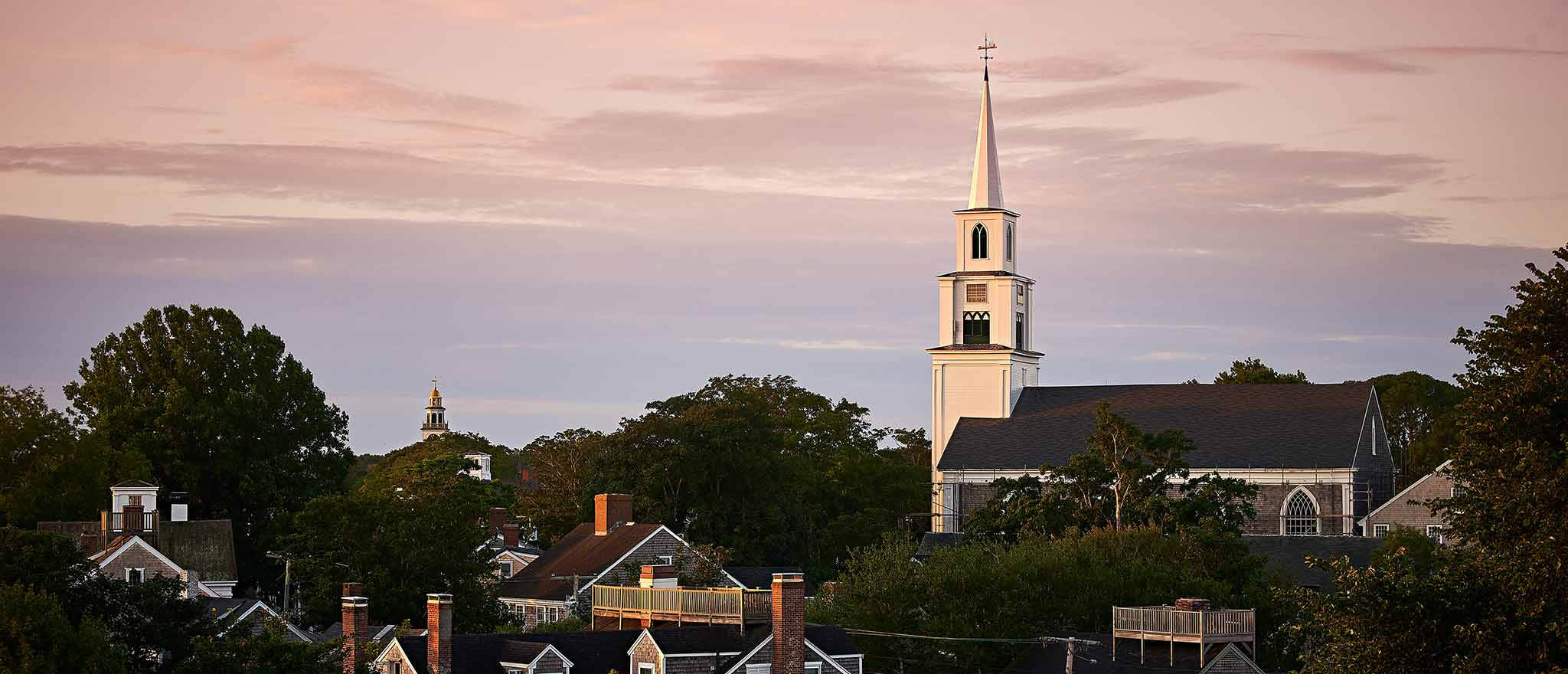 Church on Cliff Road in Nantucket